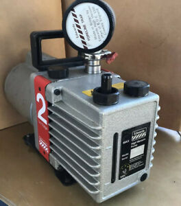 Edwards E2m2 2 Dual Stage Rotary Vane High Vacuum Pump