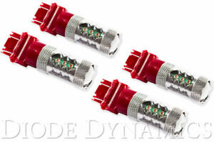 Diode Dynamics Turn tail Light Led 3157 Xp80 Red For 2007 2013 Sierra 1500