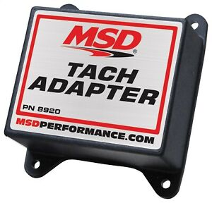Msd Ignition 8920 Tachometer Fuel Adapter