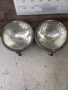 1928 1929 Model A Ford Headlight Pair Original