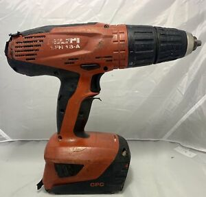 Hilti Sfh 18 a 18v Cordless Hammer Drill Driver With Battery Free Shipping