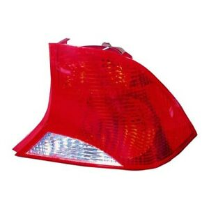 Fits 2002 2003 Ford Focus Tail Light Assembly Passenger Side Fo2801187