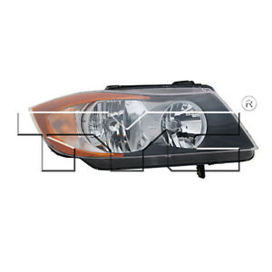 Fits 2006 2007 Bmw 330xi Headlight Passenger Side dot Type