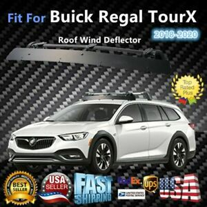 Fits Buick Regal Tourx 43 Roof Rack Crossbar Wind Fairing Air Deflector Kit