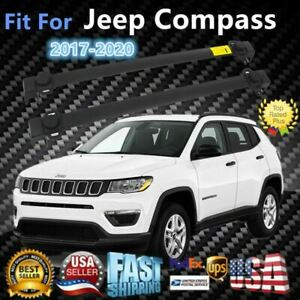 Fit For Jeep Compass 2017 2020 Baggage Top Roof Rack Oe Style Crossbars