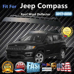 Fits Jeep Compass 43 Roof Rack Crossbar Wind Fairing Air Deflector Kit