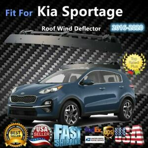 Fits Kia Sportage 43 Roof Rack Crossbar Wind Fairing Air Deflector Kit