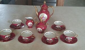 Antique Porcelain Tea Set