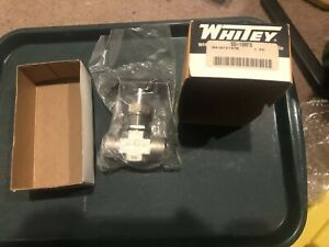 Whitey Ss 18rf8 Integral bonnet Needle Valve