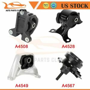 4pc Set For Acura Rsx 2 0l Manual 2002 2006 Type s Engine Transmission Mounts