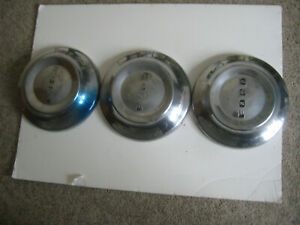 Ford Dog Dish Poverty 1953 54 Hubcaps 3 Total