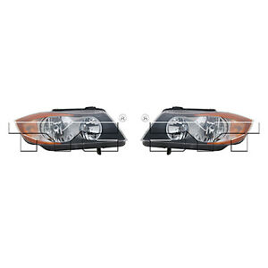 Fits 2006 2007 Bmw 330xi Headlight Pair Side dot Type