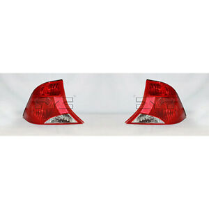 Fits 2002 2003 Ford Focus Tail Light Driver And Passenger Side Fo2800187 Fo280