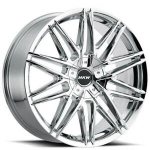 4 20 Mkw Wheels M124 Chrome Rims b4