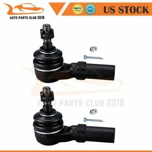 2pcs Front Outer Tie Rod Ends For 2005 2010 2011 2012 2013 2014 Ford Mustang