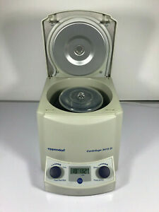Eppendorf 5415d Tabletop Laboratory Centrifuge With F45 24 11 Rotor
