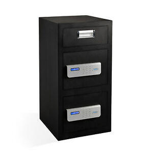 Viking Security Safe Vs 70ds Large Double Door Lcd Electronic Depository Safe