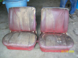 1965 1966 Chevrolet Impala Ss Convertible And 2 Door Hard Top Bucket Seats