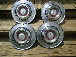 1964 Plymouth Savoy Belvedere Fury Hubcaps Set Of 4