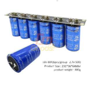 16v 83f 6pcs Lot Farad Capacitor Super Capacitor 2 7v 500f Protection Board