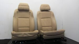 Oem Bmw E60 525 528 530 550 Sport Interior Comfort Seat Tan Front Seats Pair
