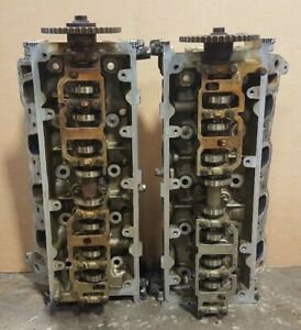 01 04 Ford Mustang Explorer F150 Romeo Pi 4 6 2v Cylinder Heads Pair Set 1l2e