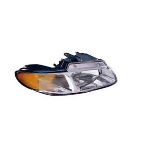 Ch2503134 Fits 2000 Chrysler Town Country Passenger Side Headlight