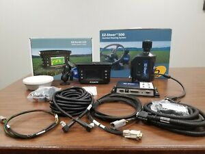 Trimble Ez Guide 250 Display Ez Steer Steering System W Ag15 Antenna