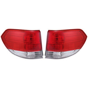 Fits 2008 2010 Honda Odyssey Pair Rear Tail Lights Driver And Rh