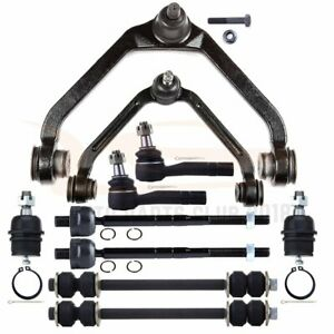 10x Control Arm Tie Rod Ball Joint Suspension Kit Set Fits 98 00 01 Ford Ranger