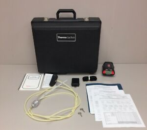 Thermo Gas Tech Potable Monitor System With Extra Battery Strap Carrying Case