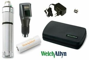 Welch Allyn 3 5v Streak Retinoscope With Nicad Battery Handle Optometry