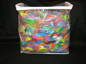 12 Pounds Colored Paper Clips Office Depot Staples Rex Baumgartens Small Jumbo
