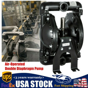 Air operated Double Diaphragm Pump 35gpm 1inch Outlet 1 Inlet 1 2inch Air Inlet