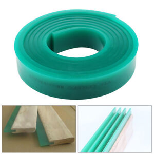 70 Duro Durometer Silk Screen Printing Squeegee Rubber Blade Roll 71 In 6 Ft