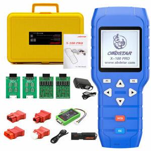 X 100 Pros Auto Key Programmer C D E Type For Obd Immo Adjust Odometer Usa Ship