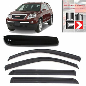 Mad 5pc Window Sunroof Visor Guard For 07 10 Saturn Outlook 07 12 Gmc Acadia