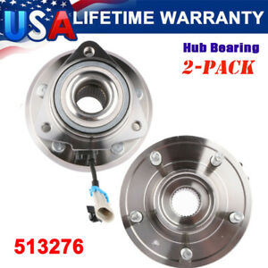2 Front Wheel Bearing And Hub Assembly W abs 513276 Fits 2008 2010 Saturn Vue