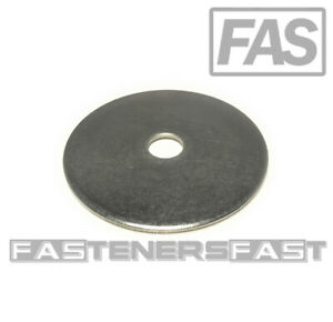 4 1 2 Id X 3 Od Stainless Steel Fender Washer Large Od extra Thick 1 8