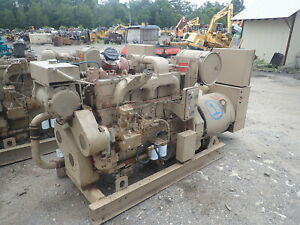 Cummins 500fd 210 Kw Generator Super Low Hrs 855 Diesel Genset 3ph 480