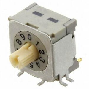 Brand New 1 Pc Nd3 kr10h Switch Rotary Dip Bcd 100ma 5v Nkk Switches