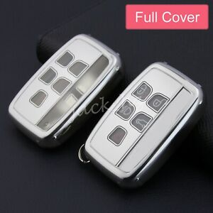 Car Key Case Fob Holder Shell For Jaguar Xe Xf Xj F pace F type Land Rover