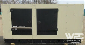Used 100 Kw Kohler 100rezg Natural Gas Generator
