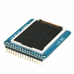 Spi Tft Lcd 1 8 Serial Module Display Pcb Adapter Power Ic Sd Socket 128x160