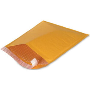 100 Pc 000 Kraft Bubble Padded Envelopes Mailers 4 X 8
