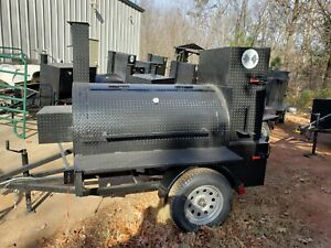 Do Not Buy A Food Truck Mini T Rex Rotisserie Bbq Smoker Cooker Trailer Mobile