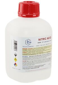 Bausch Nitric hno3 Acid 69 8 1l Cp Laboratory Grade Gold And Silver Refining