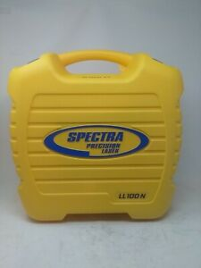 Spectra Precision Laser Level Ll100n With Hr320 Reciever