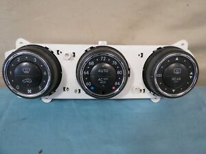 02 03 04 05 Mercedes W163 Ml series Front Ac Temp Heater Climate Control Oem