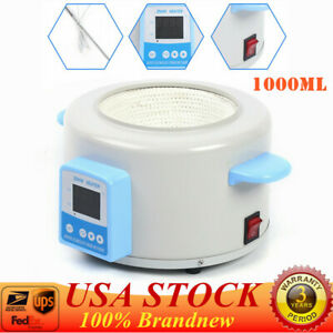 1000 Ml Heating Mantle Digital Display Electric Heating Sleeve 530w Medicine Lab